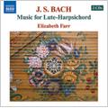 Bach: Lute-Harpsichord Music / Elizabeth Farr(lute/cemb)
