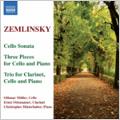 Zemlinsky: Cello Sonata, etc / Othmar Muller(vc), Christopher Hinterhuber(p), Ernst Ottensamer(cl)