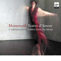 Monteverdi: Teatro D'amore (2006)  / Philippe Jaroussky(C-T), Nuria Rial(S), Christina Pluhar(cond), L'Arpeggiata <限定盤>