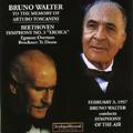 "Beethoven: Symphony No.3""Eroica"" (2/3/1957)/Bruckner:Te Deum/etc (1953-57):Bruno Walter(cond)/Symphony of the Air/etc"