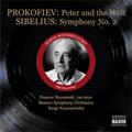 Prokofiev: Peter & the Wolf; Sibelius: Symphony No.2, etc / Serge Koussevitzky(cond), Boston Symphony Orchestra