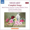 Mozart: Complete Songs / Ruth Ziesak(S), Lothar Odinius(T), Ulrich Eisenlohr(p), Ariane Lorch(mand)