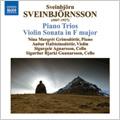 Sveinbjornsson: Piano Trios, Violin Sonata / Audur Hafsteinsdottir(vn), Sigurour Bjarki Gunnarsson(vc), Nina-Margret Grimsdottir(p)