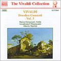 Vivaldi: Dresden Concerti Vol 3 / Fornaciari, Martini, et al