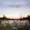 Grieg:  Songs; Six Pomes By Henrik Ibsern Op.25, 6 Lieder Op.48, etc / Katarina Karneus(Ms), Julius Drake(p)