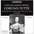 Mozart: Cosi Fan Tutte (in English:12/17/1955) / Fritz Stiedry(cond), Metropolitan Opera Orchestra, Eleanor Steber(S), Blanche Thebom(Ms), Cesare Valletti(T), Lorenzo Alvary(Br), etc