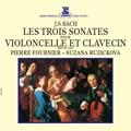 J.S.バッハ: チェロ・ソナタ集 BWV.1027-BWV.1029 (ヴィオラ・ダ・ガンバのためのソナタ集) / ピエール・フルニエ, ズザナ・ルージイチコヴァ<タワーレコード限定>