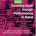 Teaching Music Through Performance in Band Vol.6 Grade.2-3 -M.Houllif, F.Ticheli, C.Tucker, etc / Eugene Corporon(cond), North Texas Wind Symphony