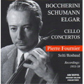 Boccherini : Cello Concerto No.9; Schumann: Cello Concerto Op.129; Elger: Cello Concerto Op.85 (1955-58) / Pierre Fournier(vc), Georg Solti(cond), NDR SO, etc