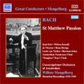 ウィレム・メンゲルベルク/Bach: St. Matthew Passion/ Mengelberg [8110880]