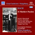 Bach: St. Matthew Passion/ Mengelberg