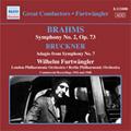 Brahms: Symphony No.2 Op.73 (3/22-25/1948); Bruckner: Symphony No.7 -Adagio (4/1/1942) / Wilhelm Furtwangler(cond), LPO, BPO