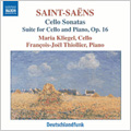 Saint-Saens:Cello Sonatas No.1 op.32/No.2 op.123/ Suite op.16:Maria Kliegel(vc)/Francois-Joel Thiollier(p)