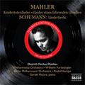 Mahler: Lieder eines fahrenden Gesellen, Kindertotenlieder; Schumann: Liederkreis Op.39 (1952-1955) / Dietrich Fischer-Dieskau(Br), Gerald Moore(p), Rudolf Kempe(cond),  Berlin Philharmonic Orchestra, etc