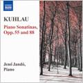 Kuhlau: Piano Sonatinas Op. 55, 88 / Jeno Jando(p)
