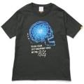 121 クレイジーケンバンド 横山剣 NO MUSIC, NO LIFE. T-shirt (グリーン電力証書付き) Black&Blue/Lサイズ