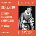 VERDI :RIGOLETTO:MARIO ROSSI(cond)/ORCHESTRA SINFONICA DI TORINO DELLA RAI/MARGHERITA RINALDI(S)/ETC