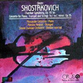 Shostakovich: Chamber Symphony Op.110, Piano Concerto No.1 / Bohdan Warchal, Slovak Chamber Orchestra, Alexander Cattarino, etc