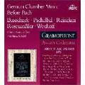 German Chamber Music Before Bach -Buxtehude, Pachelbel, Reincken, etc / Reinhard Goebel(cond), Musica Antiqua Koln