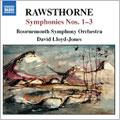 "Rawsthorne:Symphony No.1/Symphony No.2 ""A Pastoral Symphony""/Symphony No.3:David Lloyd-Jones"