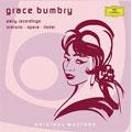Grace Bumbry -Early Recordings 1957-1965: Bizet, Brahms, de Falla, etc / Maurice Abravanel(cond), Utah Symphony Orchestra, etc