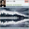 Schubert:Sacred Music:Stabat Mater D.175/Salve Regina D.386/Magnificat D.486/Etc :P.Schreier(T)/M.Creed(Cond)/D.Knothe(Cond)/Berlin Radio Chorus/Berlin Rias Chamber Chorus/Berlin Radio Symphony Orchestra