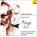 Brahms :Piano Trios Vol.4 -Trio for Piano, Clarinet & Cello Op.114/Piano Trio:Abegg Trio/Martin Spangenberg(cl)