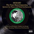 MOZART:THE 4 HORN CONCERTOS:NO.1-NO.4(11/12,13,23/1953)/ETC:DENNIS BRAIN(hrn)/HERBERT VON KARAJAN(cond)/PHILHARMONIA ORCHESTRA/ETC