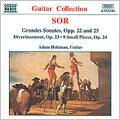 ソル:大ソナタ Op. 22, 25/ディヴェルティメント Op. 23