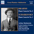 Brahms: Piano Concerto No.2 (10/22, 23/1929); Tchaikovsky: Piano Concerto No.1 (6/9, 10/1932) / Arthur Rubinstein(p), Albert Coates(cond), John Barbirolli(cond), LSO