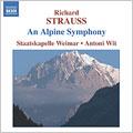 R.STRAUSS.:AN ALPINE SYMPHONY:ANTONI WIT(cond)/STAATSKAPELLE WEIMAR