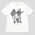 122 Caravan X Curly Giraffe NO MUSIC, NO LIFE. T-shirt Lサイズ