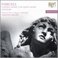 H.Purcell: Funeral Music for Queen Mary, Anthems / Timothy Brown, Cambridge Clare College Choir, etc