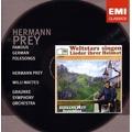 Hermann Prey - Famous German Folksongs / Willi Mattes, Graunke SO