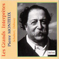 "Les Grands Interpretes -Debussy: Fetes from Nocturnes (11/5/1944); Schubert: Symphony No.9 ""The Great""D.944 (9/9/1956) / Pierre Monteux(cond), New York PO, BSO"