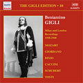 The Gigli Edition Vol.10:Milan & London Recordings 1938-1940