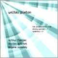 Walter Piston: The Incredible Flutist, String Quartet No.1, Symphony No.4 / Arthur Fiedler, Boston Pops, etc