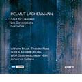 H.Lachenmann: Salut fur Caudwell, Les Consolations (2005), Concertini (2006) / Wilhelm Bruck(g), Theodor Ross(g), Johannes Kalitzke(cond), WDR SO, etc