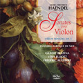 Handel : Violin Sonatas Op.1, Sonata in G minor Op.2 (3/1994) / Gilbert Bezzina(vn), Frederic Audibert(vc), Vera Elliott(cemb) (Ensemble Baroque de Nice members)
