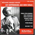 Mozart: Die Entfuhrung aus dem Serail (9/10/1958) / Peter Maag(cond), Orchestra Sinfonica e Coro Nazionale della RAI, Teresa Stich-Randall(S), etc
