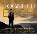 J.S.Bach: Violin Concertos BWV.1041-BWV.1043, BWV.1060 / Richard Tognetti, Australian Chamber Orchestra, etc