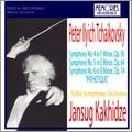 Tchaikovsky: Symphony No.4-No.6 / Jansug Kakhidze, Tbilisi Symphony Orchestra