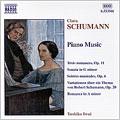 C. Schumann: Piano Works