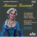 Puccini:Manon Lescaut :Jonel Perlea(cond)/Rome Opera Orchestra & Chorus/Licia Albanese(S)/Jussi Bjorling(T)/Robert Merrill(Br)/etc