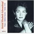 Recital Elisabeth Schwarzkopf -Beethoven/Schubert/Brahms (2/11/1954/Turin):Edwin Fischer(p)