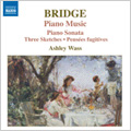 Bridge: Piano Music Vol.2 -Piano Sonata/Lament for Catherine/3 Improvisations for the Left Hand/etc:Ashley Wass(p)