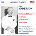 アンダーソン:管弦楽作品集 第4集