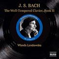 J.S.BACH:THE WELL-TEMPERED CLAVIER BOOK.2 (7/1951-3/1954) :WANDA LANDOWSKA(cemb)