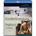 Mascagni: Cavalleria Rusticana; Leoncavallo: Pagliacci / Jesus Lopez Cobos, Madrid Teatro Real Orchestra, etc