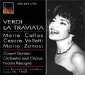 Verdi : La Traviata (6/20/1958) / Nicola Rescigno(cond), CGRO & Chorus, Maria Callas(S), Cesare Valletti(T), etc